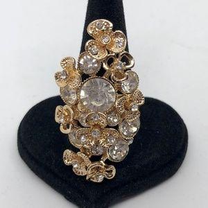 Ring Womens Adjustable Costume Jewelry Gemstone